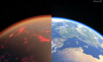 Ancient Earth had a thick, toxic atmosphere like Venus — until it cooled off and became liveable