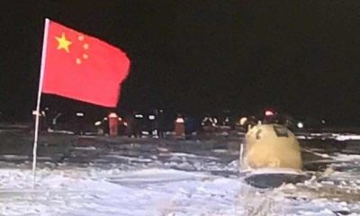 Chinese craft returns to Earth with Moon rocks SpaceX Boca Chica