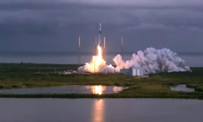 SpaceX launches a record 143 satellites on one rocket, aces landing