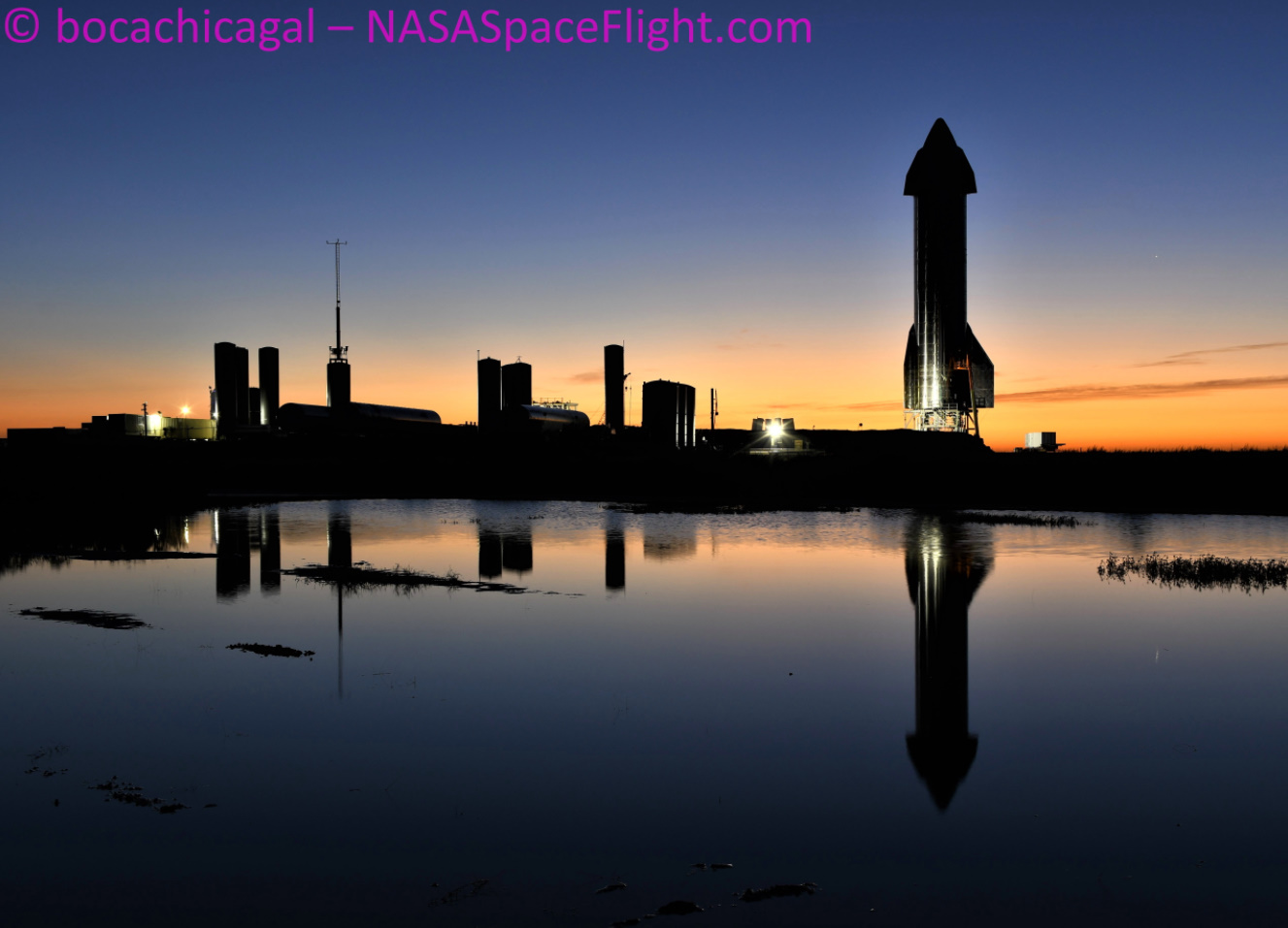 Starship SN9 makes speedy recovery ahead of Static Fire and potential launch - NASASpaceFlight.com